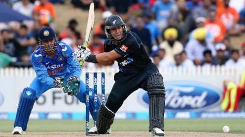New Zealand Beat India in Rain-Hit Second ODI