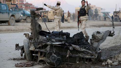 Car Bomb in Afghan Capital Kills two Foreign Contractors