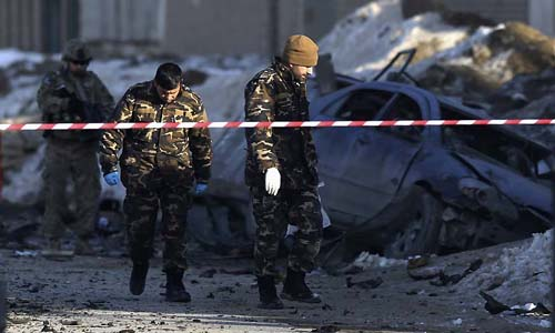 Afghan capital car bomb