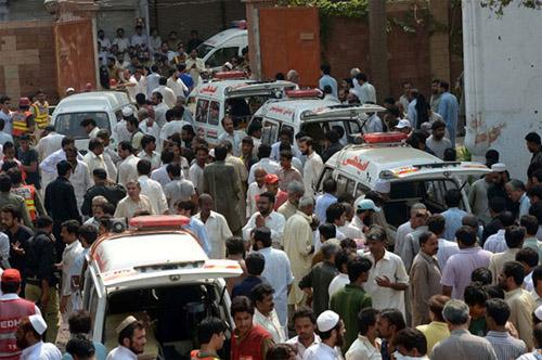 Peshawar  cinema blast