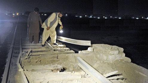 railway blast