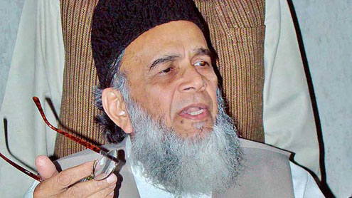 JI chief asks govt to resume talks with Taliban
