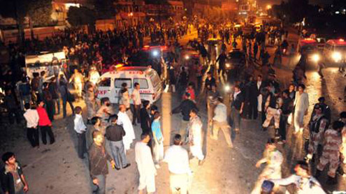 Eight of a Family Killed in Lahore