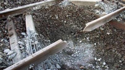 Blast on Naseerabad Train Track Disrupts railway Service