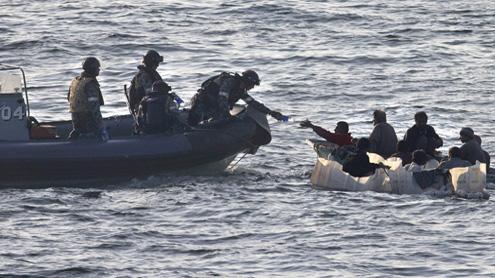 shipwrecked Iranians