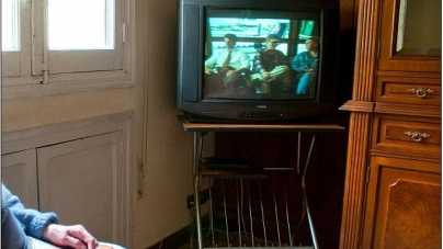 German woman found in front of TV ,dead six months past
