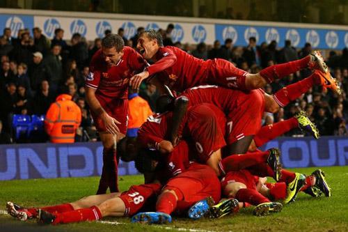 Hotspur v Liverpool match