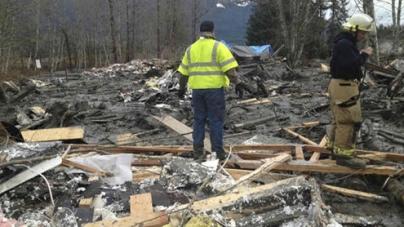 US landslide Death toll Doubles to 8