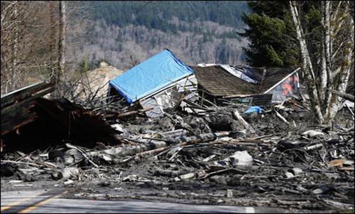 US landslide death