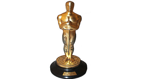 Oscar the Golden Statuette Coveted by Hollywood