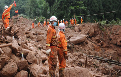 landslide death toll