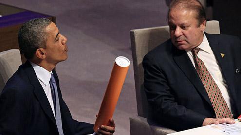 obama and Nawaz Sharif