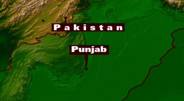 Bus accident  Pind Dadan Khan