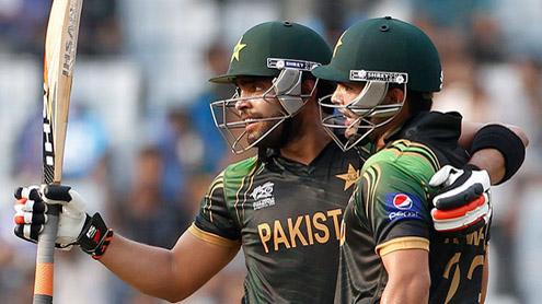 Umar Akmal Stars in Pakistan's 16 runs Win Over Aussies