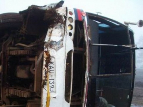 Kashmore: Passengers Killed as Bus Overturns