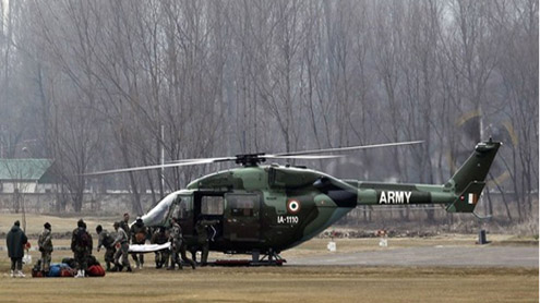 Army Helicopter Crashes in Balochistan
