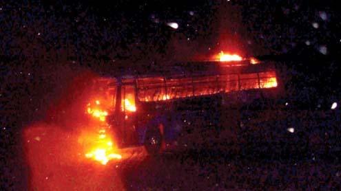 bus Crushes Dera Ghazi Khan