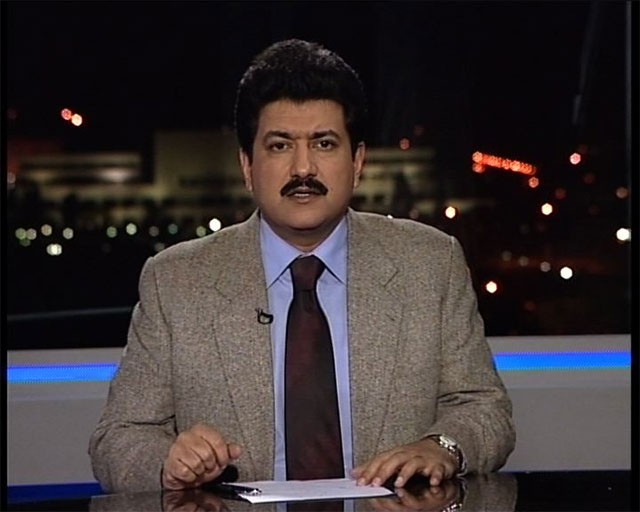 Geo/jang group anchor Hamid Mir
