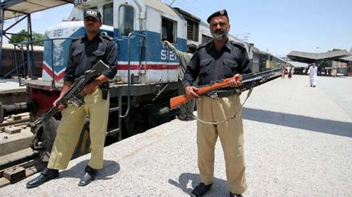 Blast on Jaffar Express near Sibi