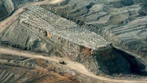 gypsum mine in Khewra