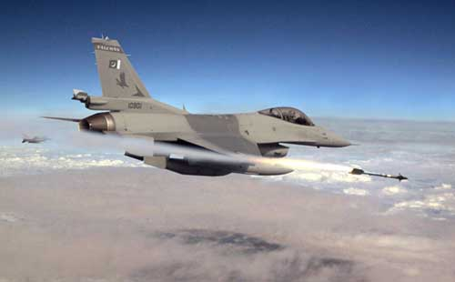 Jet Planes bomb Militant Hideouts in Khyber Agency