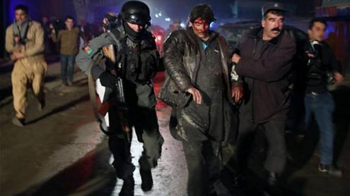 Kabul suicide attack