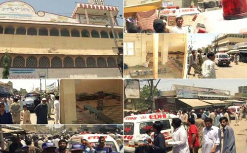 Karachi Grenade attack