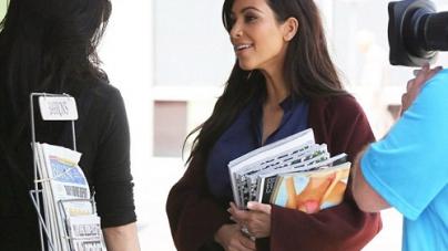 Kim Kardashian's favourite Celeb IS on the Cover