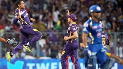 Mumbai Indians Beaten by KKR in first Match IPL 7