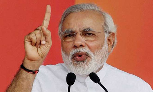 Modi Condemns 'evict Muslims' Statement