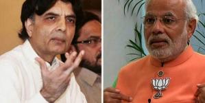 Nisar Calls Modi's Statement 'irresponsible, Shameful'