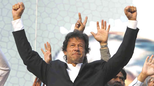Imran Greets KP Govt for Satisfying needs of People