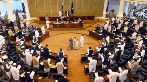 PTI Members form forward Bloc in Assembly