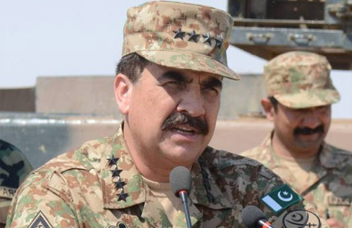 Army Chief Raheel Sharif