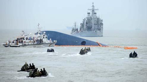 S. Korea ferry Sinking: Hundreds Still Missing