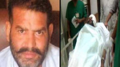 Wali Babar murder Case linked SHO Shafiq Tanoli Survives in Suicide attack
