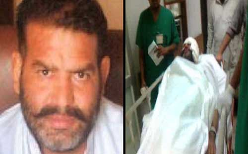 Wali Babar murder Case linked SHO Shafiq Tanoli Survives in Suicide attack