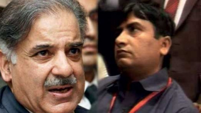 Shahbaz Sharif releases the Shoe-thrower