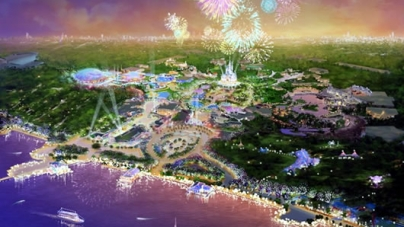 Shanghai Disneyland and Luxury Shopping Complex Opening In 2015