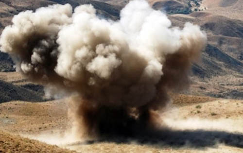 Blast in South Waziristan