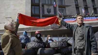 Ukraine Struggles to Control Eastern Parts