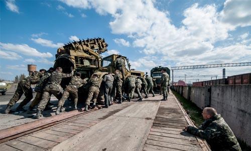 Ukraine eastern parts