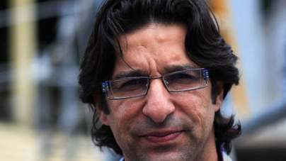 Wasim Akram Father dies in Lahore