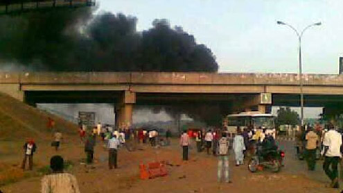 Bus Station Blast Near Nigerian Capital
