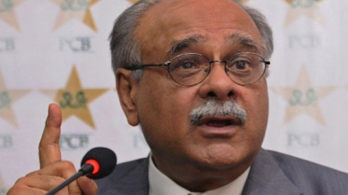 Pakistan Cricket Board Najam Sethi