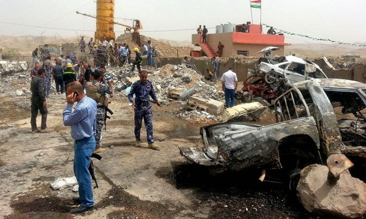 Iraq attacks kill 19 as Soldiers Ambush Militants