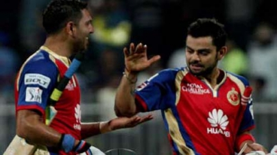 RCB vs DD, IPL 2014: Yuvraj Singh Guides Bangalore to a well Deserved Victory