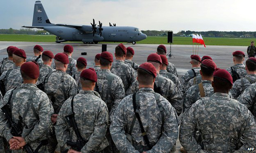 Ukraine Crisis: US troops land in Poland for Exercises