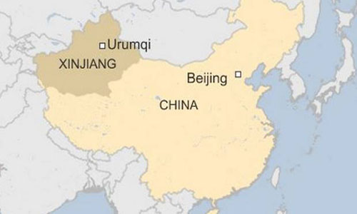 Blast in Capital of China's restive Xinjiang