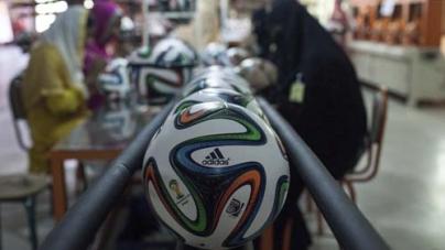 Sialkot Ball Maker to Fulfil World Cup Dream